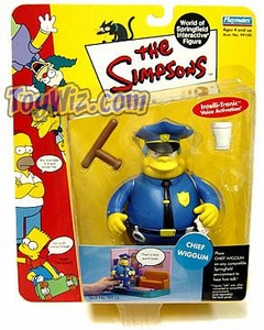 The Simpsons Wave 2 Playmates Action Figure Chief Wiggum