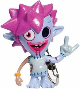 Moshi Monsters Mini Figure Keychain Zommer [Bonus Moshling Charm Included!]