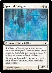 Magic the Gathering Avacyn Restored Single Card White Common #37 Spectral Gateguards