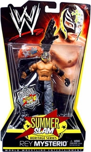 Mattel WWE Wrestling Summer Slam Heritage Series Action Figure Rey Mysterio [2006] {1 of 1000 Edition} BLOWOUT SALE!