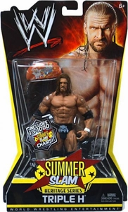 Mattel WWE Wrestling Summer Slam Heritage Series Action Figure Triple H [1 of 1000 Chairs]