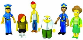 The Simpsons Series 7 Set of 6 Action Figures