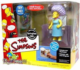 The Simpsons Series 7 Action Figure Playset DMV with Selma
