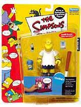The Simpsons Series 8 Playmates Action Figure Kearney