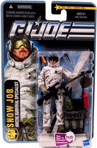 GI Joe Pursuit of Cobra 3 3/4 Inch Action Figure Snow Job [Arctic Survival Specialist]