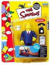 The Simpsons Series 8 Playmates Action Figure Superintendent Chalmers [LOOSE]