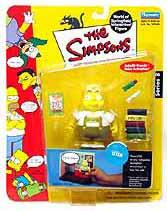 The Simpsons Series 8 Playmates Action Figure Uter