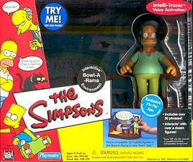The Simpsons Series 4 Action Figure Playset Bowl-A-Rama with Pin Pal Apu