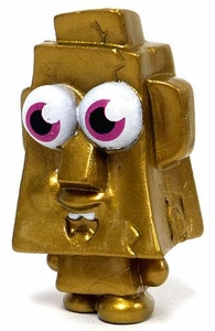 Moshi Monsters Moshlings 1.5 Inch Gold Limited Edition Mini Figure Rocky