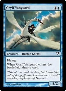 Magic the Gathering Avacyn Restored Single Card Blue Common #59 Gryff Vanguard