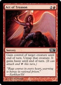 Magic the Gathering Magic 2011 (M11) Single Card Common #121 Act of Treason