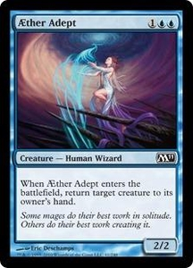 Magic the Gathering Magic 2011 (M11) Single Card Common #41 AEther Adept