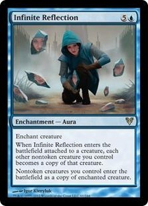 Magic the Gathering Avacyn Restored Single Card Blue Rare #61 Infinite Reflection
