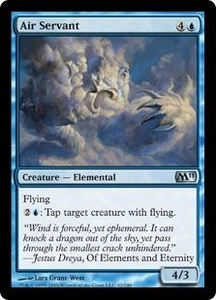 Magic the Gathering Magic 2011 (M11) Single Card Uncommon #42 Air Servant