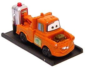 Disney / Pixar CARS Movie Exclusive Promotion 2 Inch Push-Button Racer Mater
