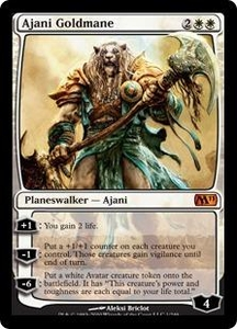 Magic the Gathering Magic 2011 (M11) Single Card Mythic Rare #1 Ajani Goldmane