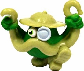 Moshi Monsters Moshlings 1.5 Inch Series 3 Mini Figure #M13 Colonel Catcher Rare!