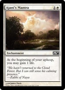 Magic the Gathering Magic 2011 (M11) Single Card Common #2 Ajani's Mantra