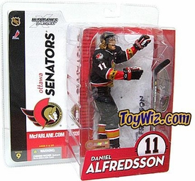McFarlane Toys NHL Sports Picks Series 9 Action Figure Daniel Alfredsson (Ottawa Senators) Black Jersey