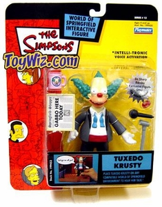 The Simpsons Series 13 Playmates Action Figure Tuxedo Krusty
