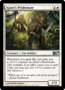Magic the Gathering Magic 2011 (M11) Single Card Uncommon #3 Ajani's Pridemate