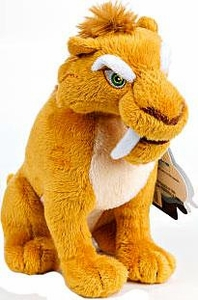 Ice Age Continental Drift Movie 6 Inch Mini Plush Diego