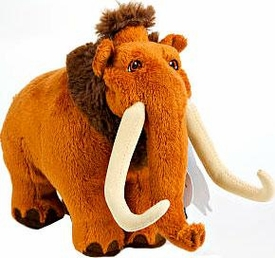 Ice Age Continental Drift Movie 6 Inch Mini Plush Manny
