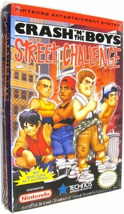 Nintendo Entertainment System NES Factory Sealed Cartridge Game Crash 'N' the Boys Street Challenge RARE!