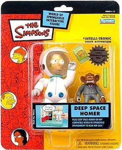 The Simpsons Series 15 Playmates Action Figure Deep Space Homer