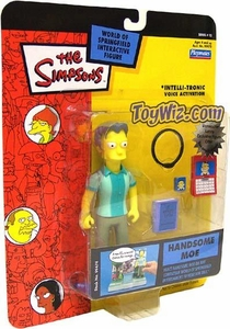 The Simpsons Series 15 Playmates Action Figure Handsome Moe