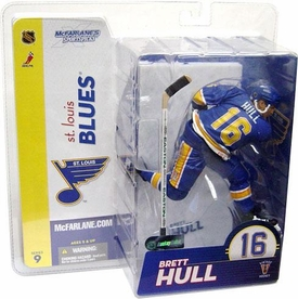 McFarlane Toys NHL Sports Picks Series 9 Action Figure Brett Hull (St. Louis Blues) Chase Piece