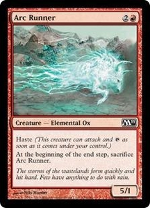 Magic the Gathering Magic 2011 (M11) Single Card Common #123 Arc Runner