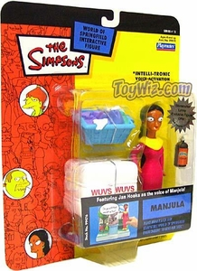 The Simpsons Series 15 Playmates Action Figure Manjula