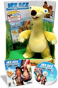 Ice Age Dawn of the Dinosaurs Exclusive Delxue Plush Figure Sid [Includes Video Game Preview]