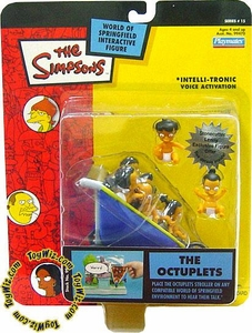 The Simpsons Series 15 Playmates Action Figure The Octuplets