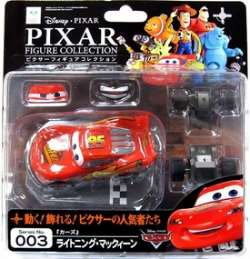 Cars Revoltech Pixar Figure Collection #003 Lightning McQueen BLOWOUT SALE!