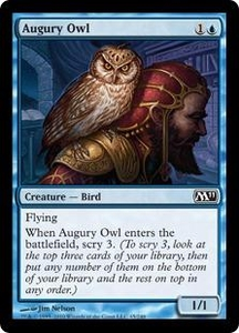 Magic the Gathering Magic 2011 (M11) Single Card Common #45 Augury Owl