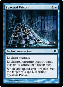 Magic the Gathering Avacyn Restored Single Card Blue Common #75 Spectral Prison
