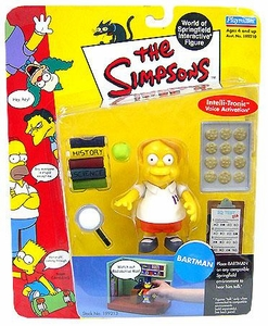 The Simpsons Series 5 Playmates Action Figure Martin Prince in Bartman Mispackaging