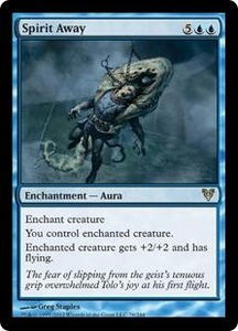 Magic the Gathering Avacyn Restored Single Card Blue Rare #76 Spirit Away
