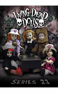 Mezco Toyz Living Dead Dolls Series 23 Set of 5 Figures [Agatha, Betsy, Jennocide, Quack & Teddy]