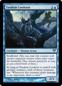 Magic the Gathering Avacyn Restored Single Card Blue Uncommon #80 Tandem Lookout