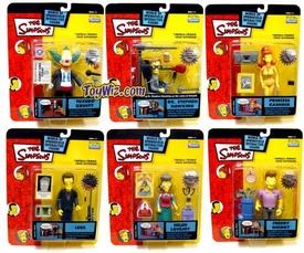 The Simpsons Series 13 Set of 6 Action Figures