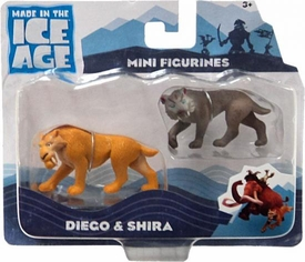 Ice Age Continental Drift Movie Mini Figure 2-Pack Diego & Shira
