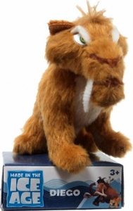 Ice Age Continental Drift Movie 2 Inch Mini Plush Diego New!