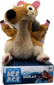 Ice Age Continental Drift Movie 2 Inch Mini Plush Scrat