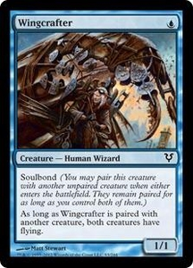 Magic the Gathering Avacyn Restored Single Card Blue Common #83 Wingcrafter