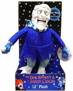 NECA The Year Without Santa Claus 12 Inch Deluxe Plush Snow Miser with Shiver Effect