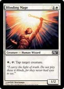 Magic the Gathering Magic 2011 (M11) Single Card Common #8 Blinding Mage