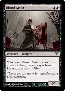 Magic the Gathering Avacyn Restored Single Card Black Uncommon #86 Blood Artist